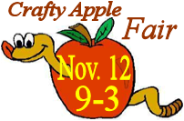 Crafty Apple Fair Nov. 12